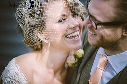 Ivory Bridal Bird Cage Veil 11inch French/Russian netting bi
