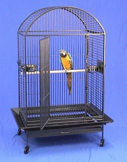 "Kauai Kastle Dometop Large Bird Cage with Stand - 36""W X 26"""