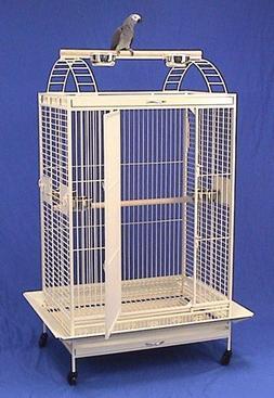 "Kauai Kastle Playtop Bird Cage - 36"" X 26"" X 68"" - Gre"