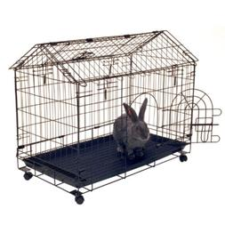 Kennel-aire Safe Indoor Rabbit Cage Hutch Bunny House Cleani