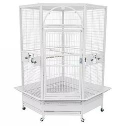 King's Cages GC 14022 Corner Parrot Cage Bird Toys African G