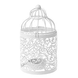 Beautyflier Vintage Creative Metal Hollow Hanging Bird Cage