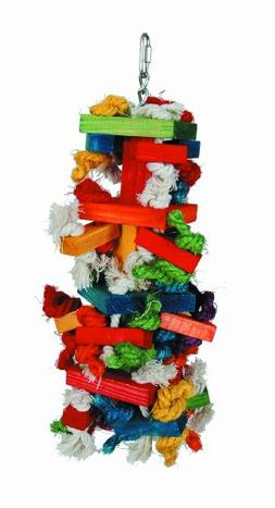 Paradise Knots &Blocks Chewing Toy, Colorful & Entertaining,
