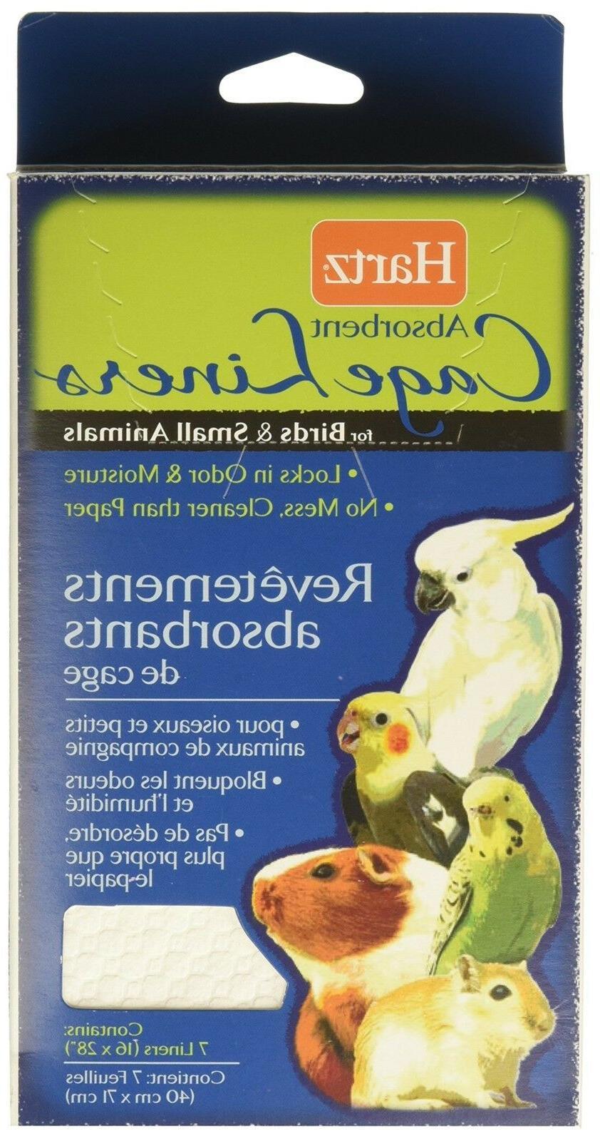 Hartz 02913 LivingTM Absorbent Cage LinersTM For Birds & Sma