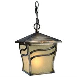 Hardware House 10-3299 Monaco Outdoor Pendant, Parisian Bron