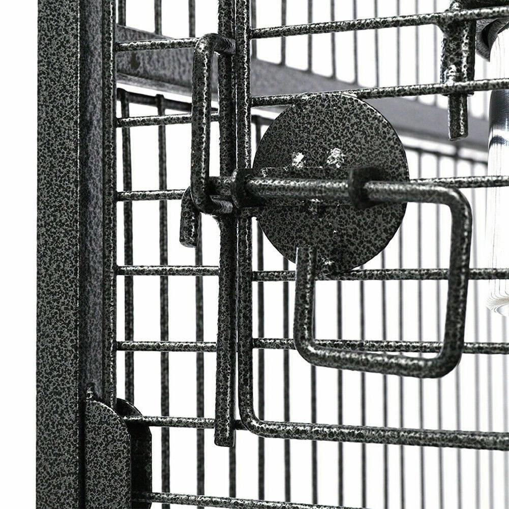 173cm Large Cage Moving Parrot Finch Play Activity
