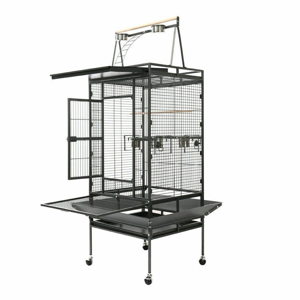 173cm Bird Cage Parrot Cockatiel Activity
