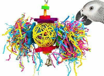 Bonka Bird Toys 1839 Foraging Star Bird Toy parrot cage toys