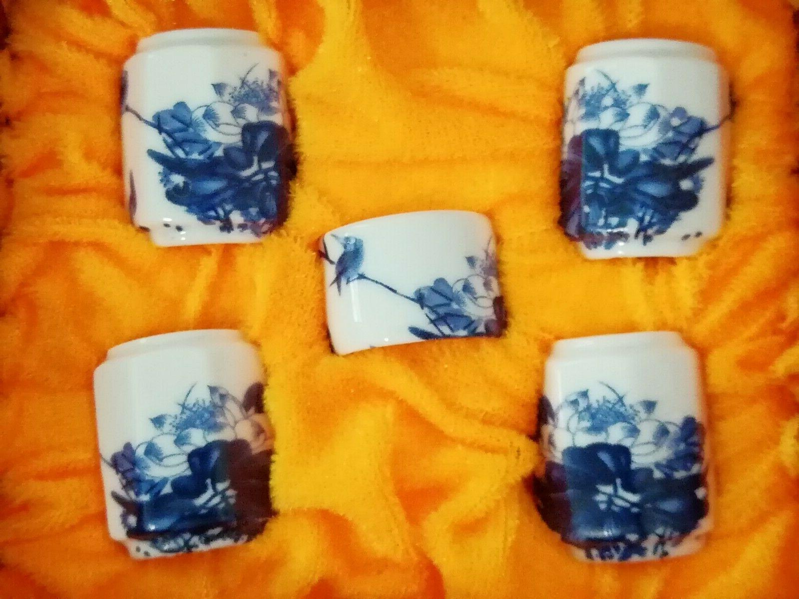 1set Blue FLOWER