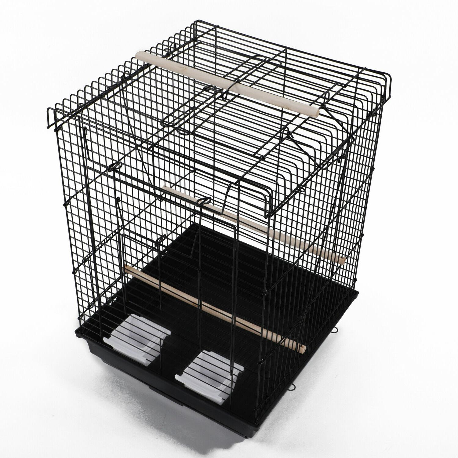 "23"" Supplies Metal Cage Open"