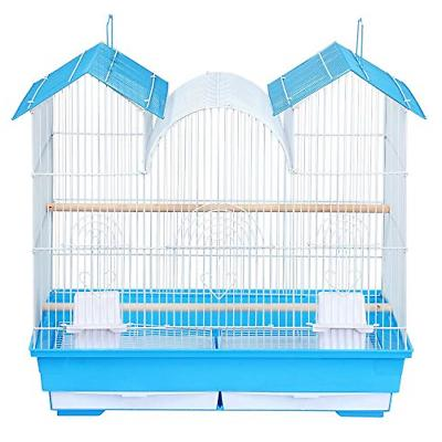 Yaheetech 23''H Triple Roof Bird Cage for Small and Medium S