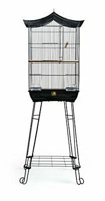 Prevue Pet 262 Penthouse Cage Black