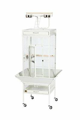Prevue Products Wrought Select Bird Cage, Chalk White
