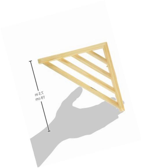 Prevue Pet Wood Corner Shelf Platform for 7 b