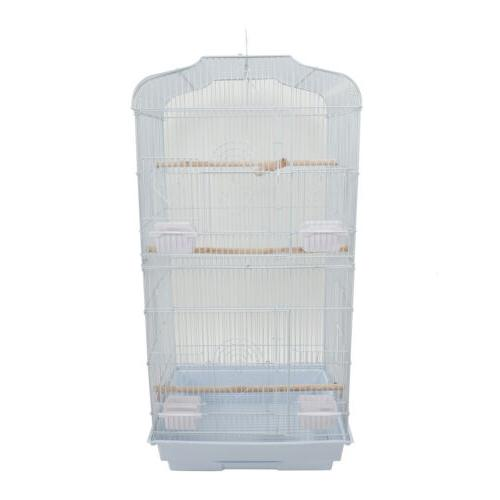 White Tall Parrot Cage Cockatiel Cage inch