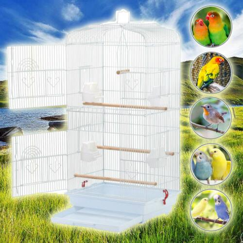 37 large tall bird parrot cage canary