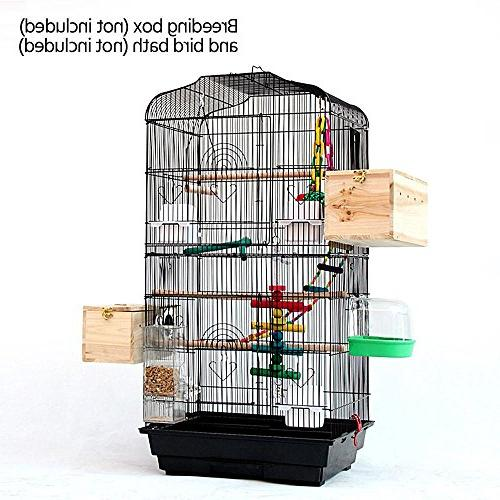 Yaheetech Quaker Bird Cockatiel Sun Green Conures Lovebirds Cage,