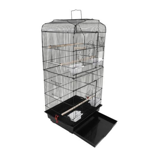 """37"""" Bird Parrot Cage Canary Parakeet Cockatiel LoveBird Finc"""
