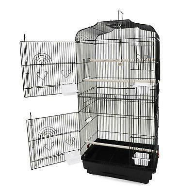 "New 37"" inch Iron Bird Cage  Canary Parakeet Cockatiel Finch"