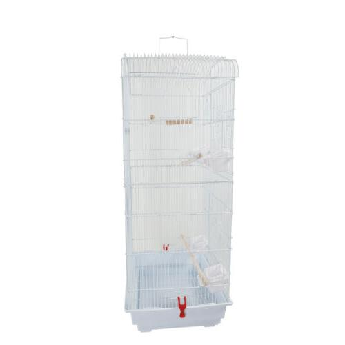 """37"""" Bird Large Play Parrot Cage Macaw Cockatoo"""