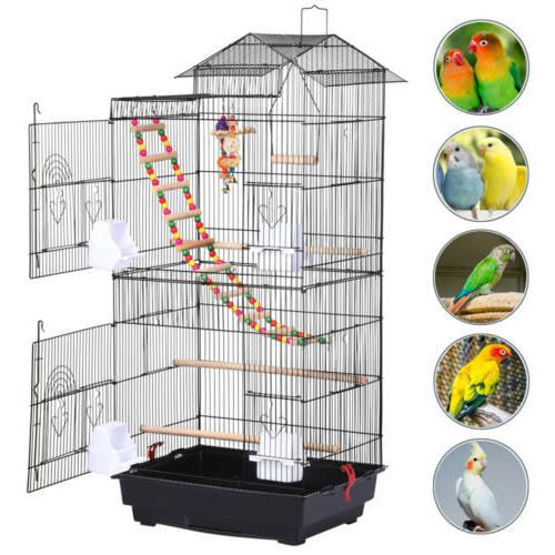 39''H Top Large Bird Cage Conure w/Toys