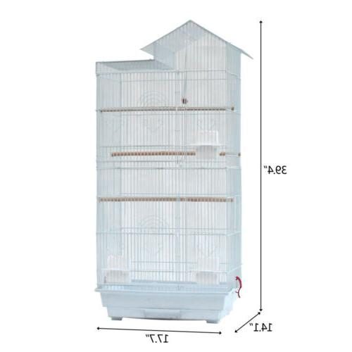 """23""""37"""" Bird Cage Hanging Aviary Canary Finch Portable"""