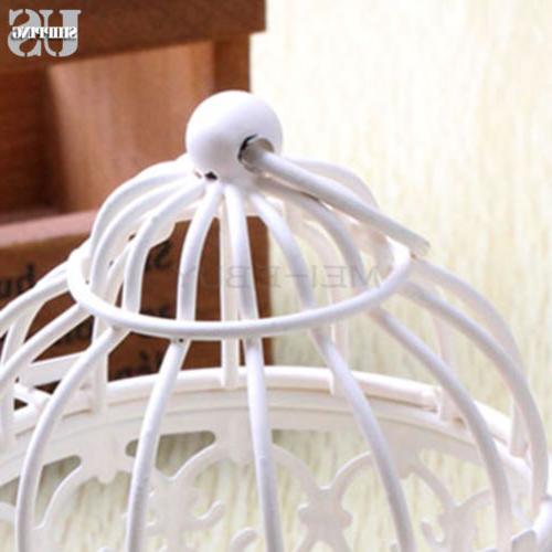 3X Bird Candle Holder Tealight Hanging Lantern