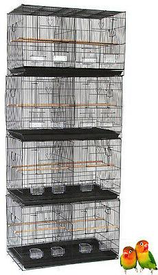 "4 Large 30"" Breeding Bird Cage Aviaries Canaries Bird Cages"