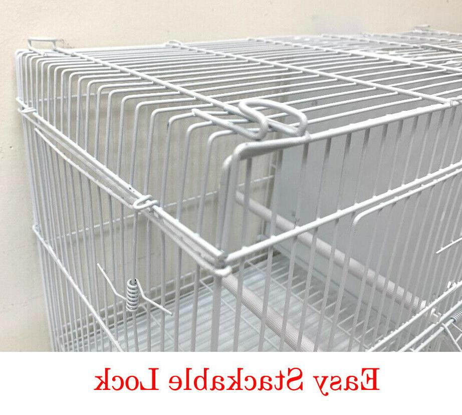 4 of Breeding Bird Flight Canaries Cages With Center