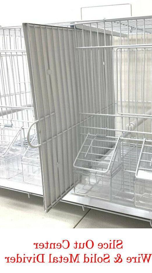 4 of Stackable Breeding Flight Cages Center