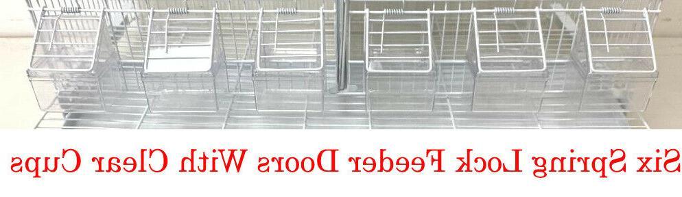 4 Breeding Bird Cages Divider