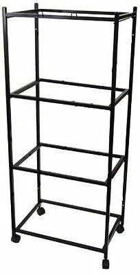 """4 Tiers Stand for 30""""x18""""x18"""" Aviary Bird Cage Black - T813-"""