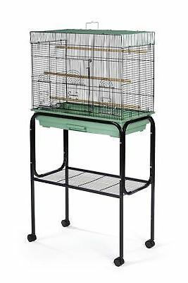 "Prevue Bird Cage 26"" x 14"" Base Flight Cages,"