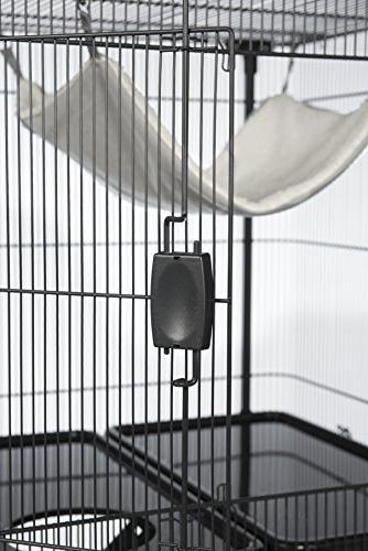 Prevue 484 Deluxe Cage, Gray