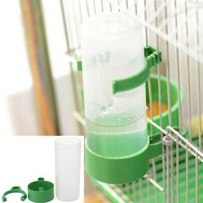 Bird Feeder Food Water Feeding Automatic Drinker Parrot Pet