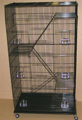 NEW Large 5 level Ferret Chinchilla Sugar Glider Mice Rat Ca