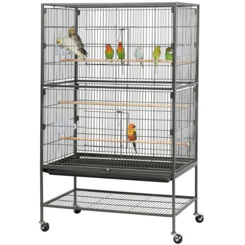 52 large bird cage parrot cockatiel parakeet