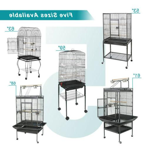 Multiple Sizes Durable Steel Bird Cage Best Place for Birds