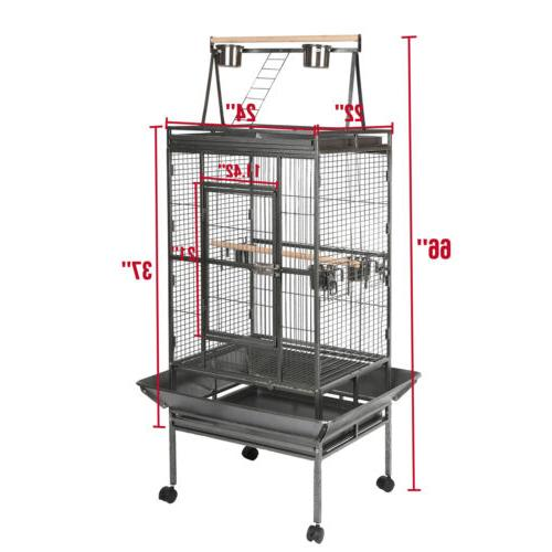 """53""""68""""69""""Large Bird Parrot Cage House with"""