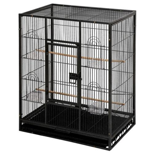 "53"" Large Cage Feeder Play Top House"