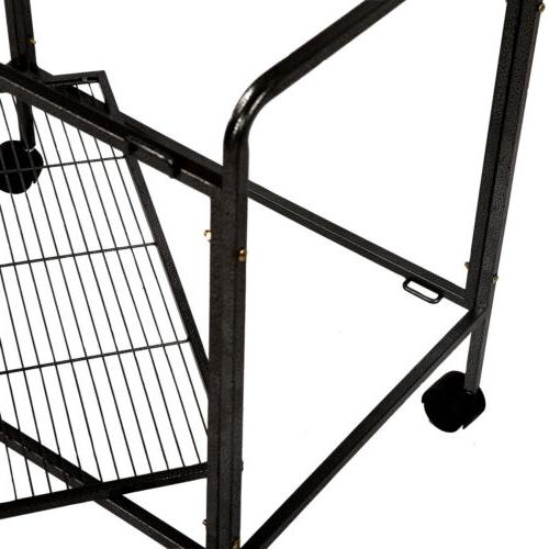 "53"" Large Bird Cage Feeder Top House"