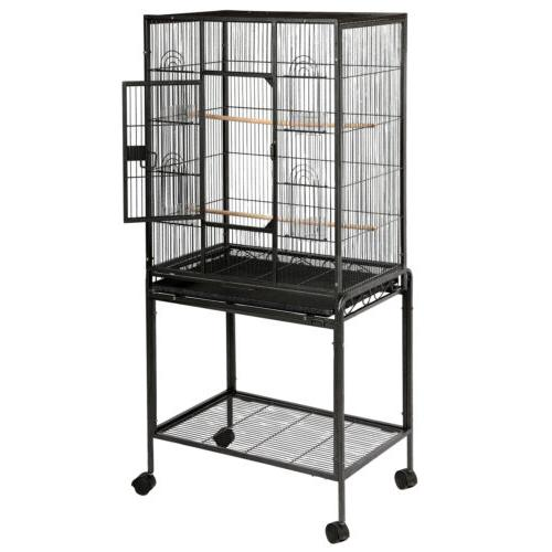 """53"""" Large Parrot Cage Lovebird Feeder House"""