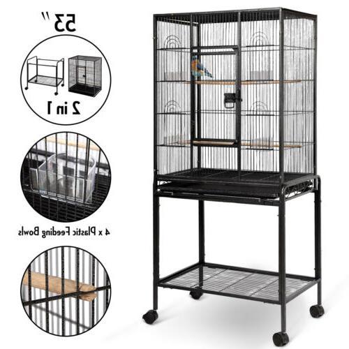 53 large parrot bird cage cockatiel lovebird