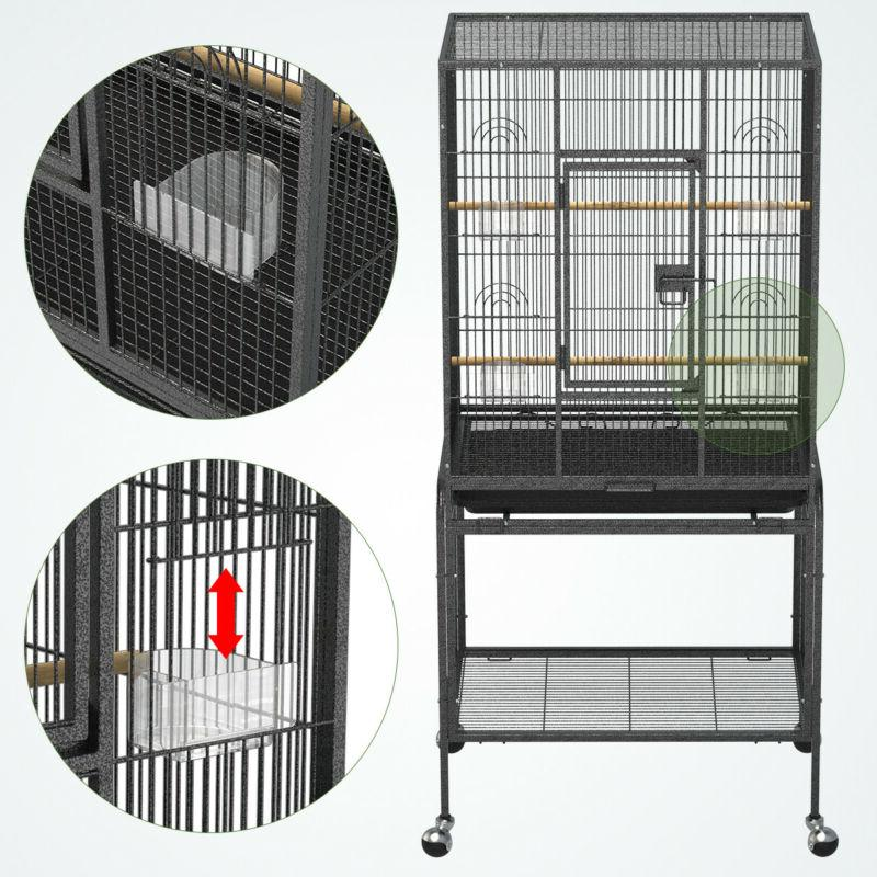 Yintatech Large Bird Cage On Parrot Conure