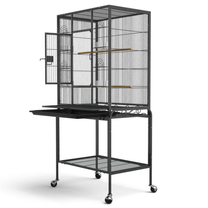 53 large pet bird cage on wheels