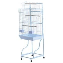 Pawhut 58 Bird Cage - White