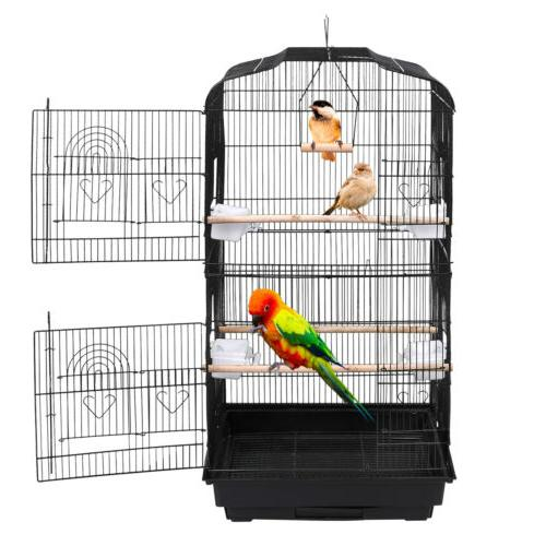 59'' Cage Parakeet Finch Conure Lovebird House