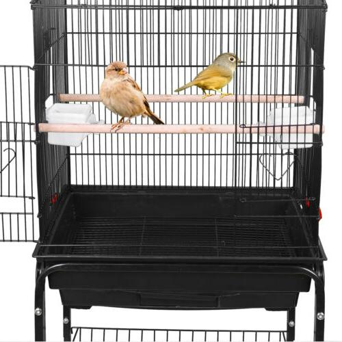 59'' Rolling Parakeet Finch Lovebird House with
