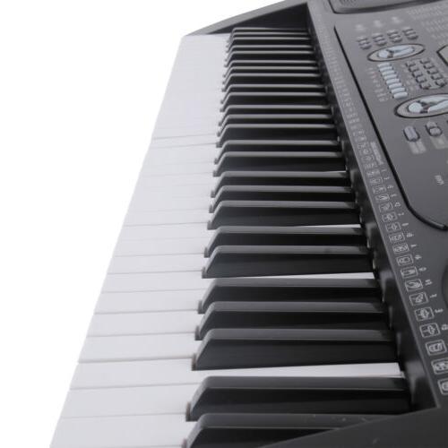 Organ Keyboard with Black