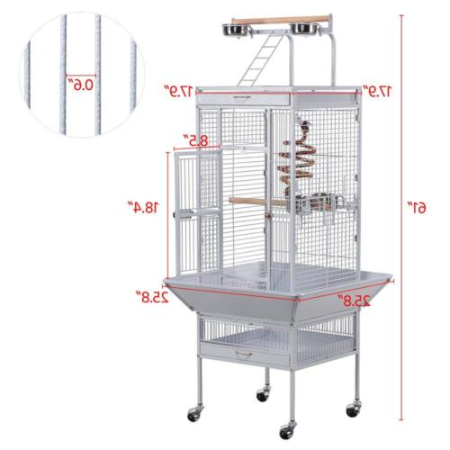 Yaheetech Wrought Select Include Bungee for Grey